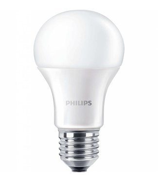 Philips LED lamp, 8,5 Watt, Dimbaar, Warm wit, grote fitting E27