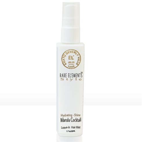 RARE EL'EMENTS Marula Cocktail Hydrating Shine Leave-In Hair Mist - 1.7oz