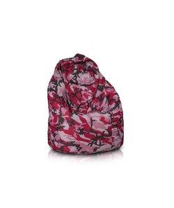 Bomba Relax zitzak camouflage roze