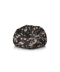 Bomba Chill zitzak camouflage groen