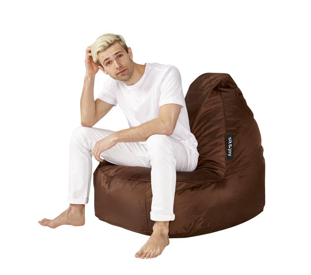 Sit And Joy Zitzak.Sit Joy Zitzak Senza Bruin Zitzakcenter
