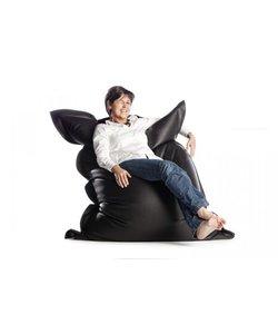 Sit on It zitzak leatherlook zwart