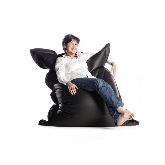 Zitzak Zwart Kind.Sitonit Sit On It Zitzak Leatherlook Zwart Zitzakcenter