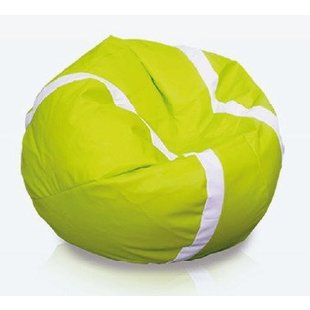 Tennisbal zitzak leatherlook Ø 105cm