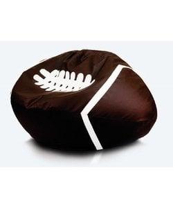 Rugbybal zitzak leatherlook Ø 130cm