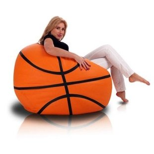 Basketbal zitzak leatherlook Ø 100cm