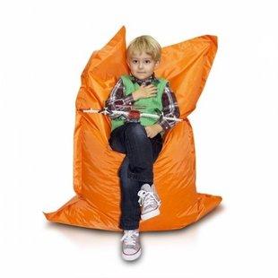 Bomba zitzak kind oranje 100x140cm