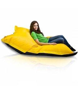 Bomba Colori zitzak Kind zitzak geel/zwart 100x140cm