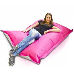Bomba Colori zitzak kind roze/zilver 100x140cm