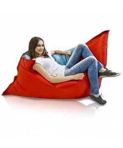 Bomba Colori zitzak kind rood/blauw 100x140cm