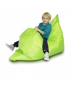 Bomba zitzak kind lime groen 100x140cm