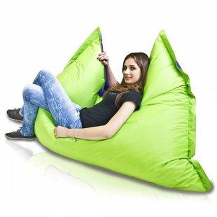 Bomba Colori zitzak paars/groen 135x170cm