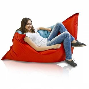 Bomba Colori zitzak blauw/rood 135x170cm