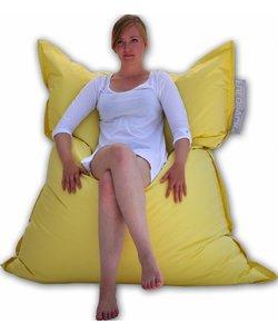 Fredsack Basic zitzak pastel geel