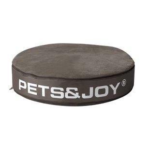 Kattenkussen Pets&Joy kussen Ø60cm taupe