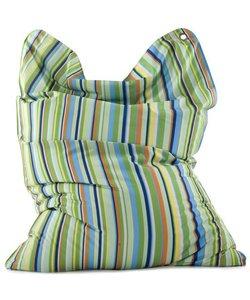 Sitting Bull zitzak Fashion large Stripes green
