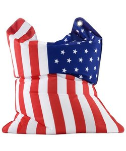 Sitting Bull zitzak Fashion large Stars and Stripes