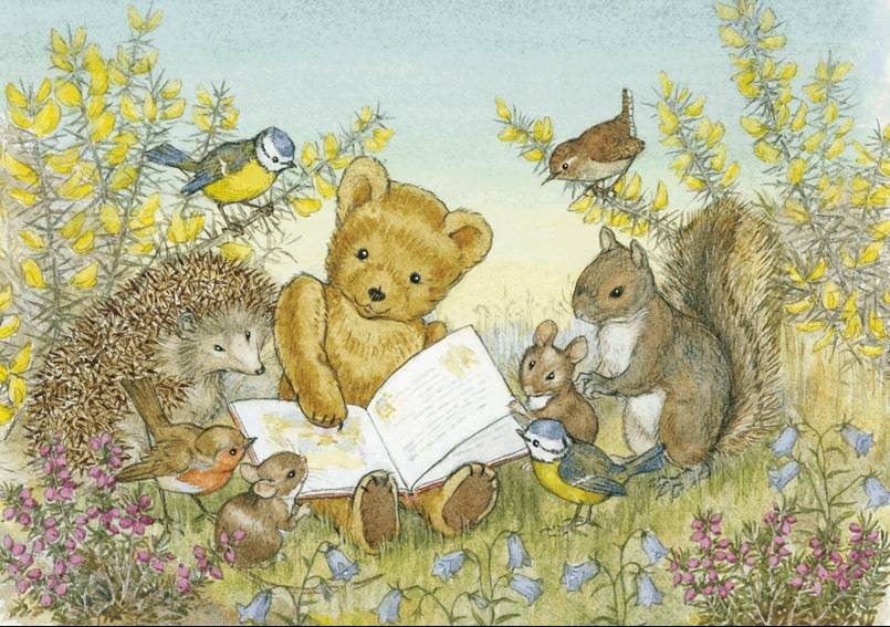 Molly Brett, Read Us a Story, Teddy PCE 040