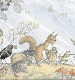 Molly Brett, Animals collecting Harvest PCE 038