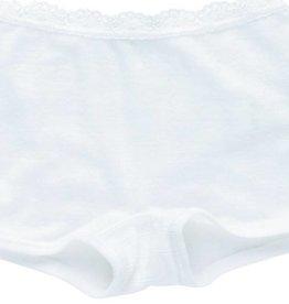 JOHA Joha Meisjes Onderbroekje met kant wol/zijde 86491