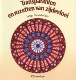 Helga Meyerbröcker, Transparanten en rozetten van zijdevloei