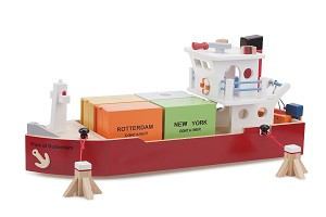 Containerboot met 4 containers NCT 10900