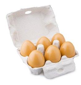 Houten eieren 6 stuks, NCT 10596