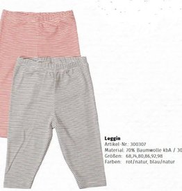 Lilano Lilano Baby legging - Katoen/Zijde - Gestreept