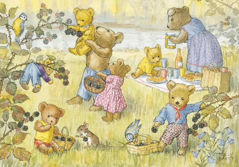 Molly Brett, Teddy Bears and Blackberries PCE 073