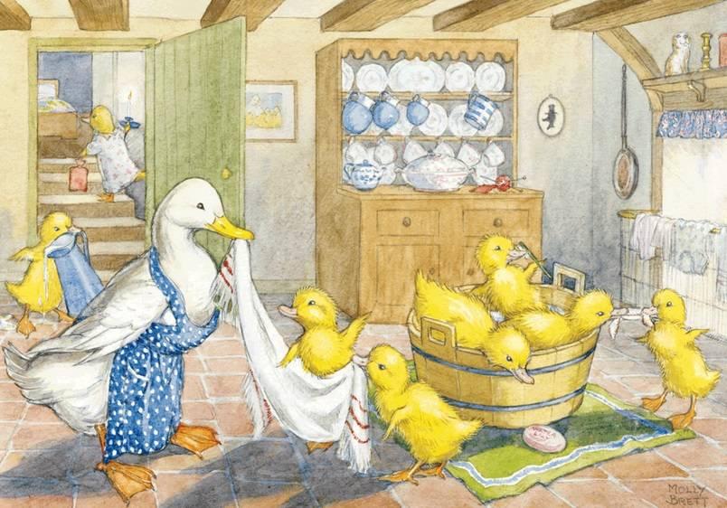Molly Brett, Ducklings' Bath Time PCE 075