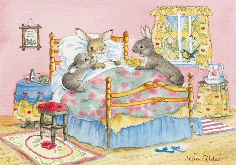 Jean Gilder, Rabbit in Bed PCE 120