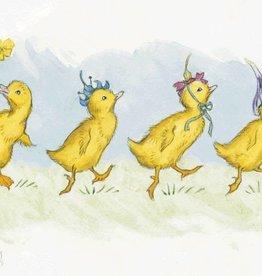 Molly Brett, Four Ducklings wearing Flowers PCE 126