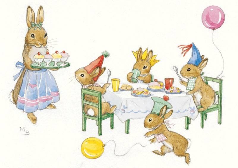 Molly Brett, Rabbit Birthday Party PCE 128