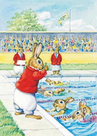 Audrey Tarrant, Rabbit Olympic Events PCE 158