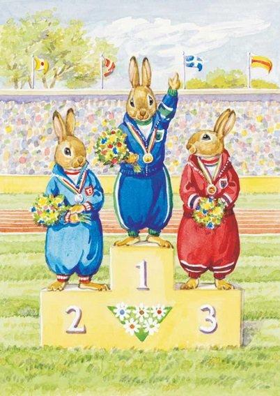 Audrey Tarrant, Rabbit Olympic Events PCE 159