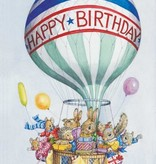 Audrey Tarrant, Animals with Presents in Balloon Baskets PCE 160