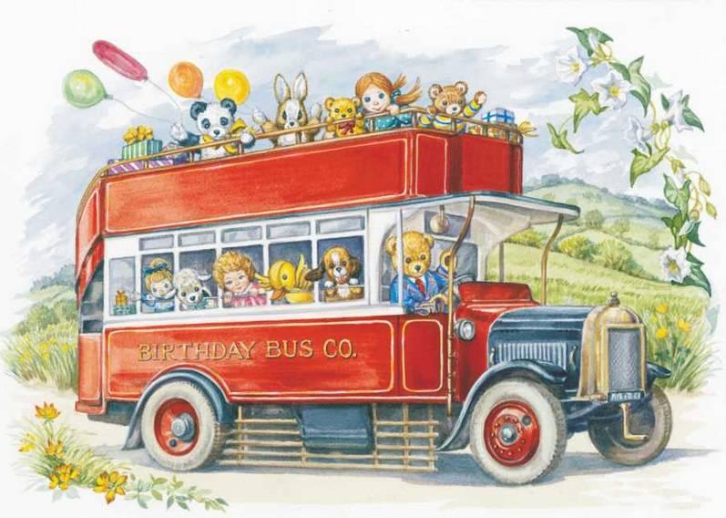 Audrey Tarrant, Open Top bus 'Birthday Bus Co' PCE 165