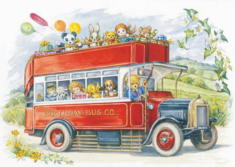 Audrey Tarrant, Open Top bus 'Birthday Bus Co'