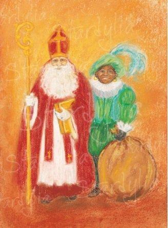 Marjan van Zeyl, Sinterklaas en Zwarte Piet (436)