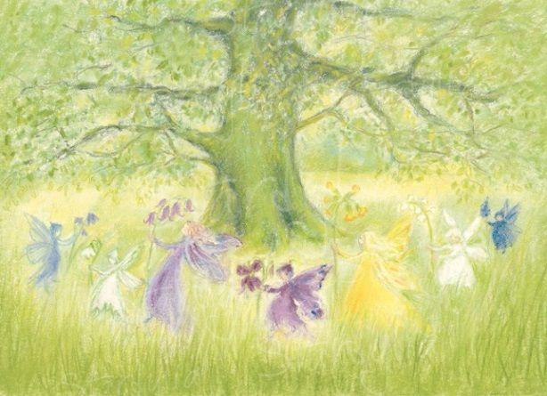Marjan van Zeyl, Elfen-reidans met lentebloemen 441