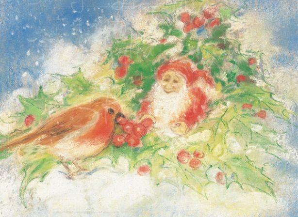 Marjan van Zeyl, Winter - Roodborstje  (413)