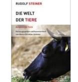 Rudolf Steiner, Die Welt der Tiere