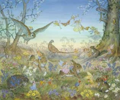 Poster Molly Brett, Fairy Time MAS 874