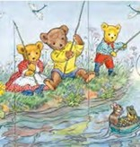 Poster Molly Brett, Teddies Fishing MAS 456