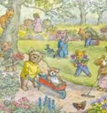Poster Molly Brett, Teddy Bear Garden MAS 470