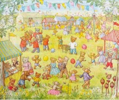 Poster Molly Brett, Teddy Bear Fete MAS 876