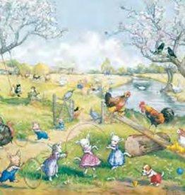 Poster Molly Brett, Springtime on the Farm MAS 856