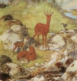 Poster Muriel Dawson, Roe Deer in Summer MAS 862