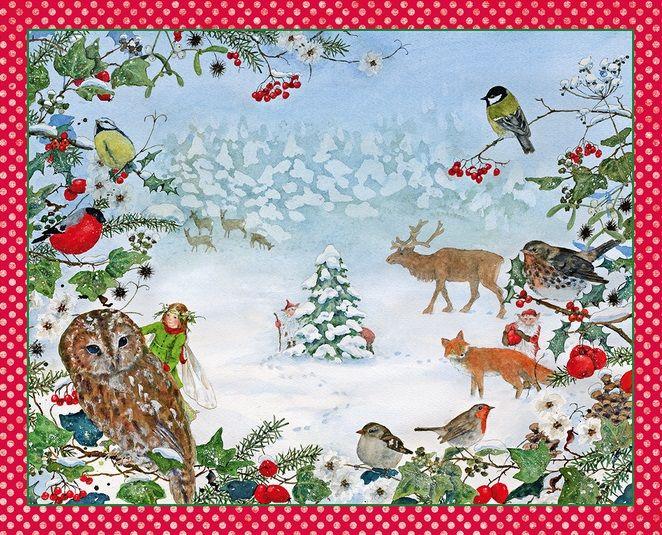Adventkalender Kerstmis in het bos 47018