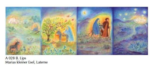 Adventkalender Maria's kleine ezel A 028